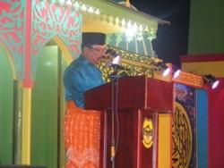 Bupati Lingga membuka acara MTQ<br /> Foto : terkininews.com / adhie