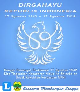 Dirgahayu 69 Republik Indonesia Kabupaten Lingga