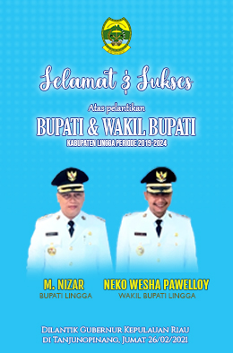 Pelantikan Bupati Kabupaten Lingga