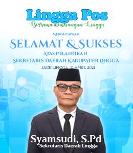 Pelantikan Setda Kabupaten Lingga